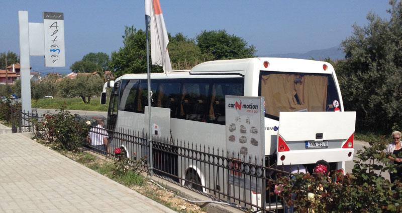 Hotel Altamar - Airport transfer by coach